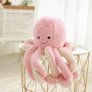 Wholesale 18 Cm Giant Octopus Plush Toy Soft Stuffed Ocean Animal Molluscs Octopus Gifts Funny Plush Toy For Children