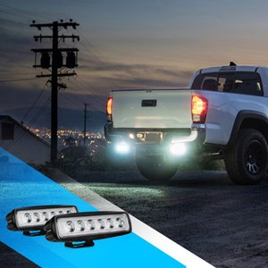 Wholesale New W V LED Work Light Bar Spotlight Flood Lamp Driving Fog Offroad LED Work Car Light beams Assembly ATV Truck Lamp
