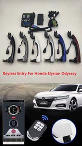 Wholesale Remote Starter Keyless Entry System PKE Car Alarm Central Lock Kit With Open Car Trunk For Elysion Odyssey