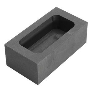 Wholesale 23 OZ Graphite Casting Ingot Bar For Gold Silver Copper Melting Refining