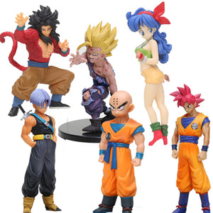 Wholesale z Anime styling child goku Trunks Vegeta lunchi 1 8 scale Dragon Ball Z Action Figure PVC Collectible Model Toys