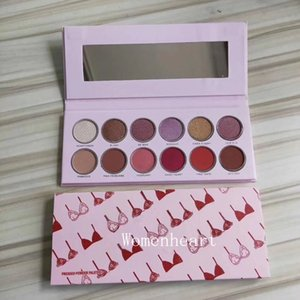 In stock Makeup Fashiond Perfect Eyeshadow Eyeshadow Palette 12 charming Color Eyeshadow Palette DHL free shippinp