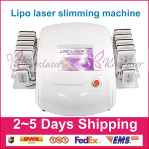 Wholesale Newest Laser Lipo Lipolysis Beauty Machine Slimming Cellulite Removal Fat Burning Reduction nm nm Diode Laser Weight Loss Body Shaping