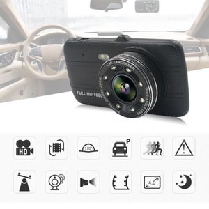 Wholesale Vehicle Car DVR Camera Full HD P Dash Cam Dual Lens Night Vision With Rear View Camera Video Driving Recorder Car Camcorder