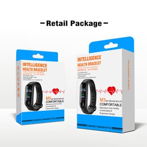 M3 Smart Band Bracelet Heart Rate Watch Activity Fitness Tracker pulseira Relógios reloj inteligente PK fitbit XIAOMI apple watch on Sale