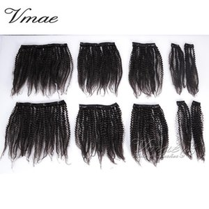 Afro Kinky Curly Hair Natural Black Brazilian Virgin Hair 100% unprocessed 12-30inch 3A 3B 3C 4A 4B 4C clip in human hair extensions on Sale