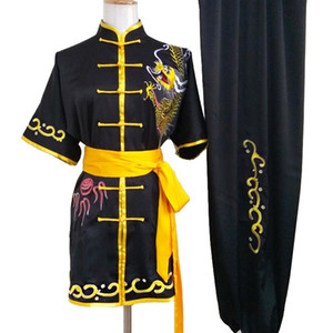 Wholesale wushu kungfu uniform resale online - Chinese wushu uniform Kungfu clothes changquan garment Martial arts outfit Routine costume for boy girl men women children girl kids adults