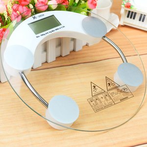 Wholesale Electronic weight scale household mini health tempered glass scale 26cm