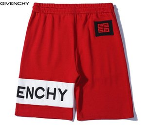 Men's shorts 19SS new tide brand cotton shorts embroidery stitching casual sports shorts couple wild loose five pants hot