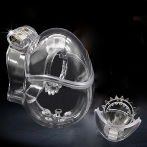 Male Fully Restraint penis Cage Egg-type Chastity Device Cage JQ666