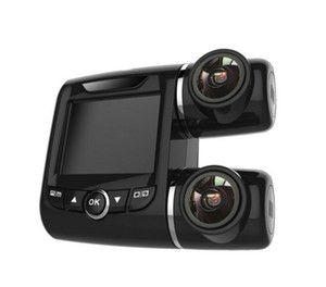 Wholesale auto dash cameras resale online - Auto Car DVR Universal Camcorder Dual Lens Portable Night Vision Driving Recorder Dash Camera Full HD P Mini Inch Video