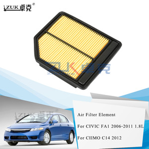 Wholesale air filtering for sale - Group buy ZUK Brand New Air Filter Element For HONDA CIVIC FA1 CIIMO C14 For L Cars Only