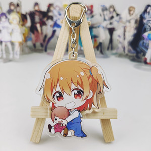 Wholesale Japan Anime Wataten An Angel Flew Down to Me Cosplay Party Acrylic Keychain Charm Keyring Phone Pendant Gifts