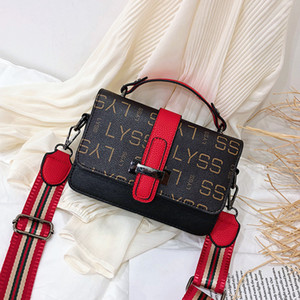 Wholesale 2019 Fashion Satchel Types handbags new fall High quality PU leather Package shoulder bags Girl Messenger Bags liya