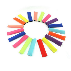 Neoprene Popsicle Holder Freezer Icy Pole Ice Lolly Sleeve Protector Ice Block Holder Ice Cream Tools Mayitr