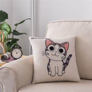 Wholesale Printed pillowcase Cartoon Unicorn sofa home cushion cover all kinds of cute animal pillow cover pillow cases in stock