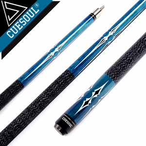 """CUESOUL 58"""" Maple Pool Cue Stick with 11.5mm 13mm Cue Tip"""