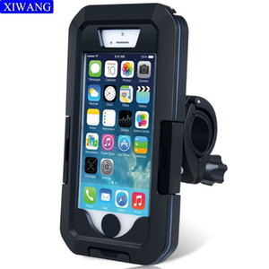 Bicycle Handlebar Holder Protector Case For Apple Iphone X 7 6 8 6s 5 Plus Support Mobile Phone Stand Waterproof Bag Cover J190507