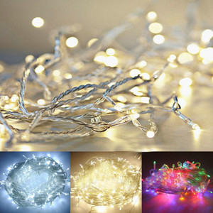 DHL 3A Battery 2m 20 LED String Mini Fairy Lights Battery Power Operated Pure Cold Warm white Blue Red Green Pink Purply multi-color