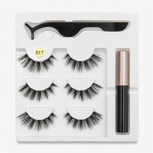 Wholesale 5 magnet for sale - Group buy Hot Magnet Eyelash Magnetic Liquid Eyeliner Tweezer Set False Eyelashes Long Lasting Eyelash Extension Makeup Tool