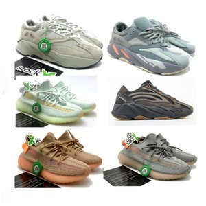 Wholesale 2019 Inertia 700 big size Salt Gorge v2 v3 sneakers 36-48 with stock x static hyperspace ture form trfrm v2 clay with box