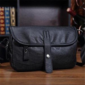 Wholesale Factory sales brand men pack summer fashion trend in man purse worn outdoors splicing leather shoulder bag Japan and single shoulder bag