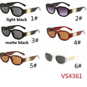 Wholesale Small Round Retro Sunglasses Men Women Rivet Leopard Tea Shades VS4631 Vintage designer Glasses Oculos UV400 colors Gafas De Sol