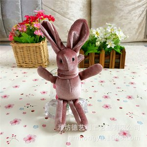Plush rabbit toys Wish Rabbit Hanger Long-footed Rabbit Bunny Hanger Immortal Bouquet on Sale