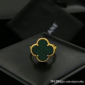 Wholesale Nfn97 CoR2 new fashion Clover style for women or man beautiful ring have three colors
