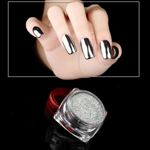 2019 New #7 Women Mirror Powder Effect Chrome Nails Pigment Gel Polish DIY Paznokcie Ongles Materiel Holographic Nail Glitter