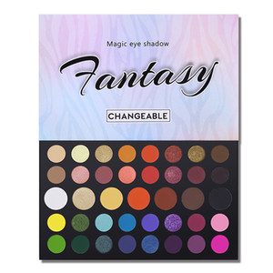 Wholesale 39 Colors Magic Eye Shadow Palette Shimmer Matte Earth Color Eye Shadow Makeup Palettes Styles Optional