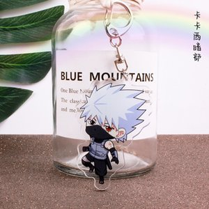 Wholesale Anime acrylic double hang cartoon fashion key chain