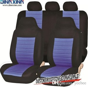 Wholesale DinnXinn 110451F8 Lexus 9 pcs full set Jacquard dog seat cover car factory import from China