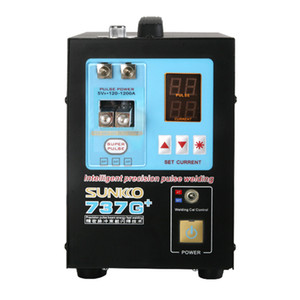 Wholesale welders machine resale online - KNOKOO G Intelligent Double Digital Display battery spot welder Precision Pulse Spot Welding Machine