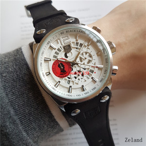 Wholesale TG Watch Run Seconds Quartz Movement Diameter 44mm Wristwatch Brand Man Watches Luxury Waterproof Stopwatch Chronograph Wristwatch LU