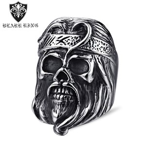 Wholesale journey west for sale - Group buy 2020 New European and American Creative Journey to the West Men and Women Couple Ring Monkey King Head Ring European and American Hand Jewel