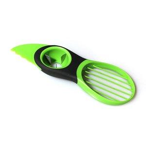 Multifunction Creative ABS Avocado Cutter Peel Pulp Separator Kitchen Vegetable Tool Slicer Avocado Knife For Cutting Avocado Fruit Vegeta