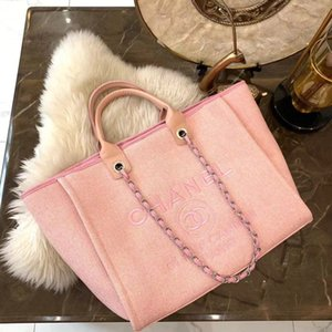 Wholesale 2019 New Designer Women Handbags Shoulder Bags Luxury Beach Bag Classic Chain Style Big Capacity High Quality Ladies Bags