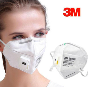 Wholesale 3M KN95 Mask FFP2 Face Masks Anti Dust and Flu Virus Smoke and Allergies Adjustable Reusable n95 Mask Protection Free DHL Shipping
