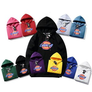 Men's Brands Dickies logo Hoodies Loose Fit Jackets Winter Basketball Events Luxury Dickies Sweater Jackets Sweatshirts u4497