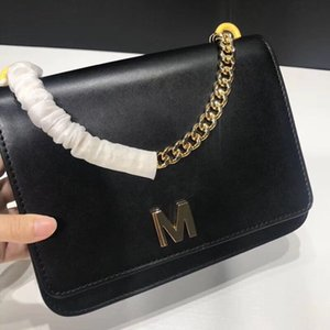 High-end customized quality handbag designer name brand crossbody bag M word rotary buckle leisure college style compartment multi-capacity