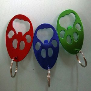Wholesale aluminium bottle beer for sale - Group buy Bear Paw Bottle Opener Creative Paw Shaped Key Chain Portable Aluminium Alloy Beer Bottle Openers Fashion Party Favor TTA2001