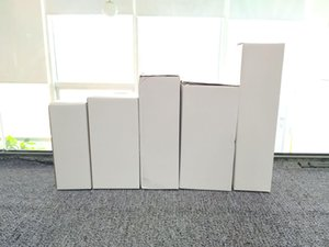 Customized cup packaging boxes 20oz skinny tumbler packing box Customize various models prompt goods White folding boxes for many size A07