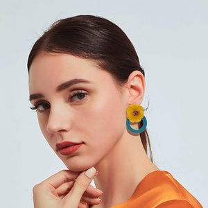 Wholesale Summer Beach Hawaii Style Designer Earring Charm Fashion Women Earring Jewelry Pretty Wear