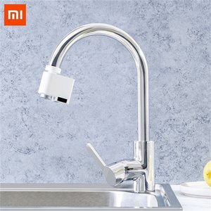 Wholesale Xiaomi Automatic Sense Infrared Induction Water Saving Device Sink Faucet For Kitchen Bathroom Adjustable Water Diffuser Home J190712