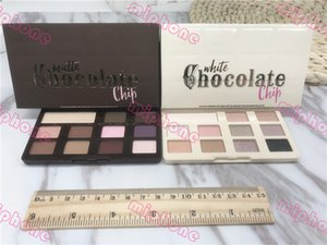 G High quality Chocolate Chip White or Matte Eye Shadow 11 colors Makeup Pro eyeshadow Palette Makeup eyeshadow ePacket chocolate smell