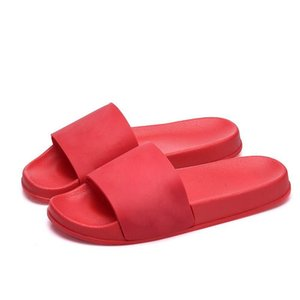 Wholesale Famous Brand Slipper Luxury Designer Slippers Men Women Summer Rubber Sandals Beach Slide Fashion Outdoor Slippers Indoor Shoes Size