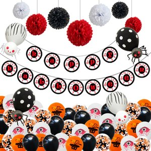 Halloween Party Balloons Ghost Decoration Pumpkin Head Decoration 12 Inch Thick Latex Balloons Children Festival Party JJ19934