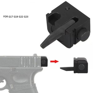 Retail Tactical Back Part Airsoft Accessory Selector Full Auto Conversion Tactical auto switch For G17 G19 G22 G23 on Sale