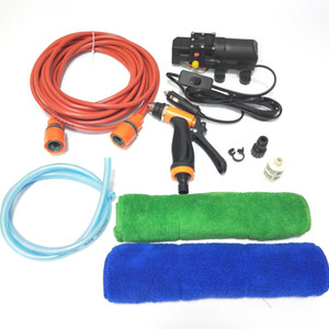 Wholesale Portable V Car Wash Kit Washing Machine Cleaning Electric Pump High Pressure Washer Device Tools Set Plug and Play